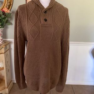 Ministry of Fashion brown knit sweater - Medium